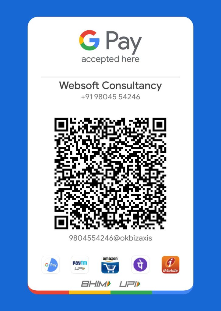 Websoft Consultancy Google pay