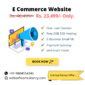 e commerce website design offer