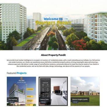 Real Estate Agent's Website